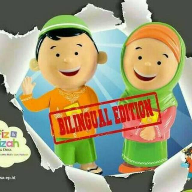 Promo New Boneka Hafiz Hafizah Talking Doll Bilingual Shopee Indonesia .
