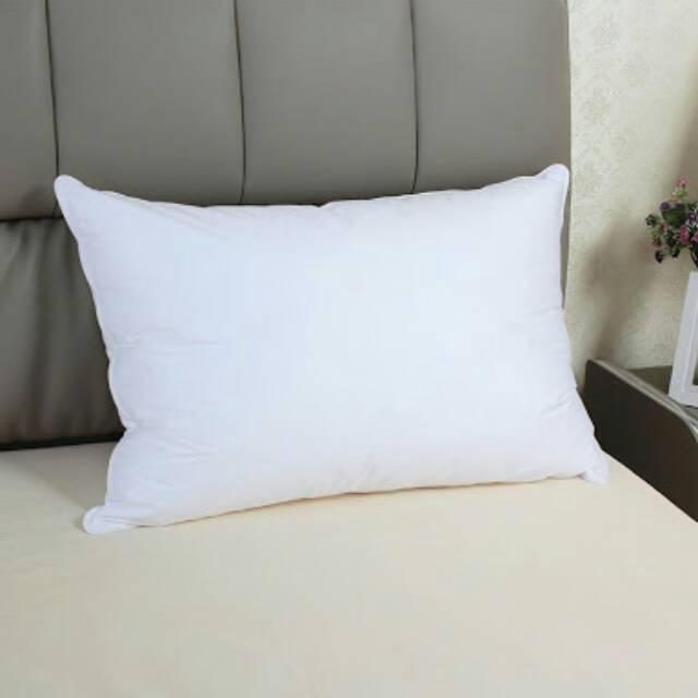 Bantal Tidur Silicon Standard Hotel Family 900gram Anti Kempes Kain ... - Bantal Donut
