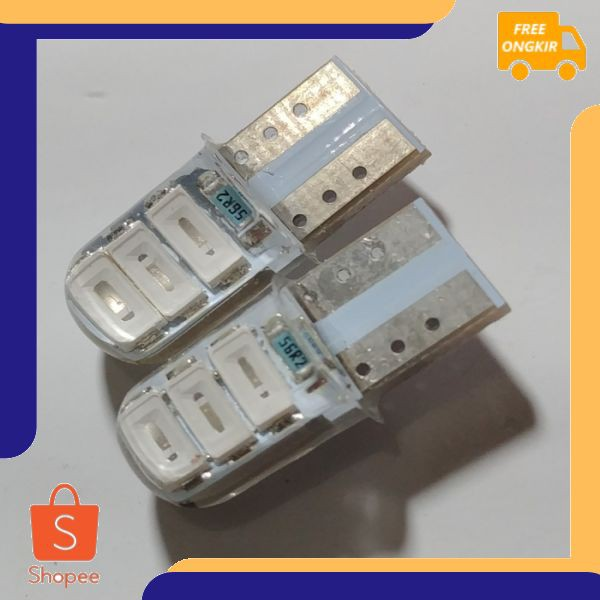 FREE ONGKIR Lampu Senja Led Nmax Aerox Soul Gt Mio LED Crystal Biru 2 Pcs